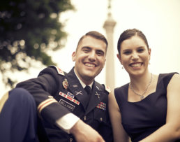 West Point Engagement photographers in the Hudson Valley
