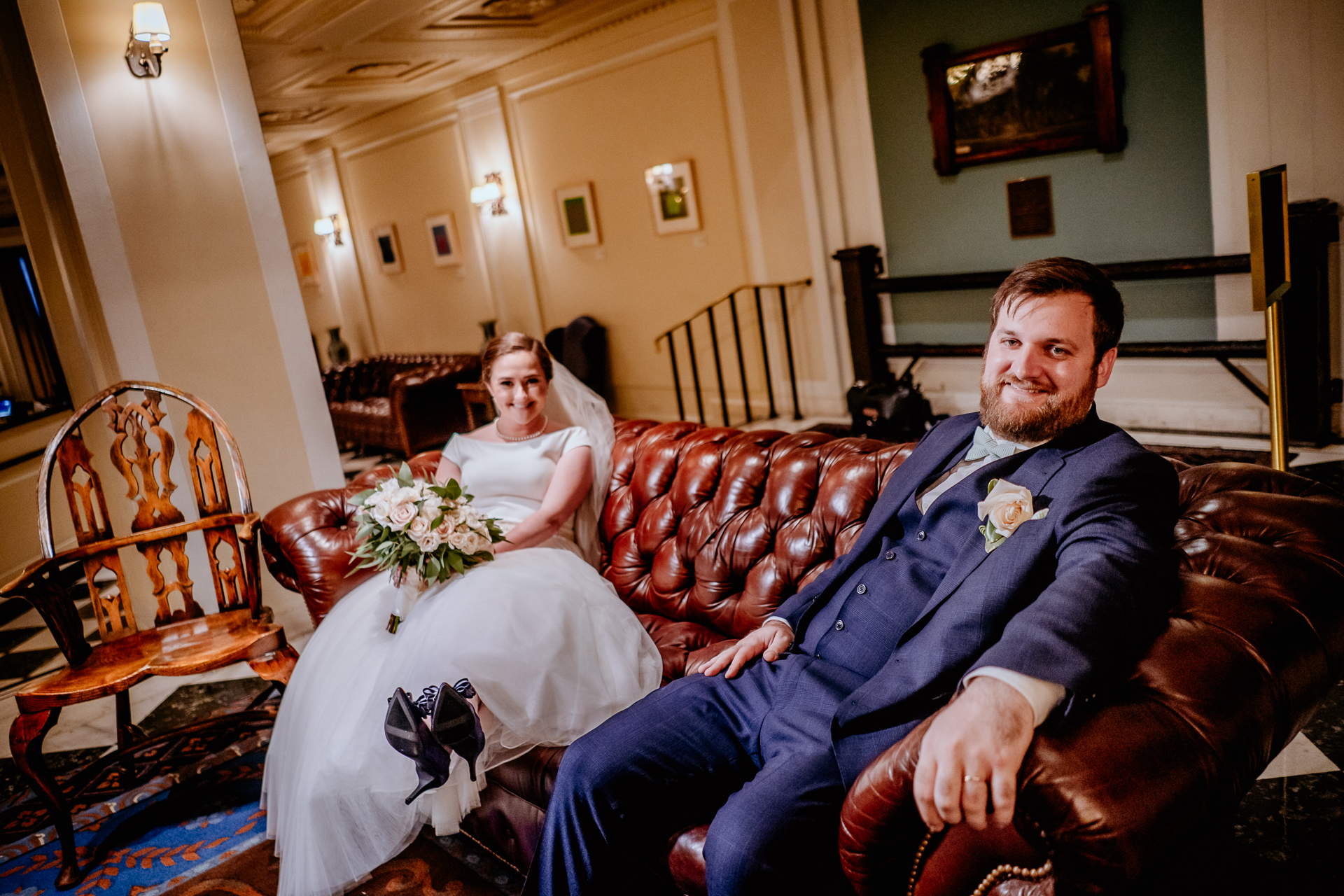 Yale Club wedding photographer