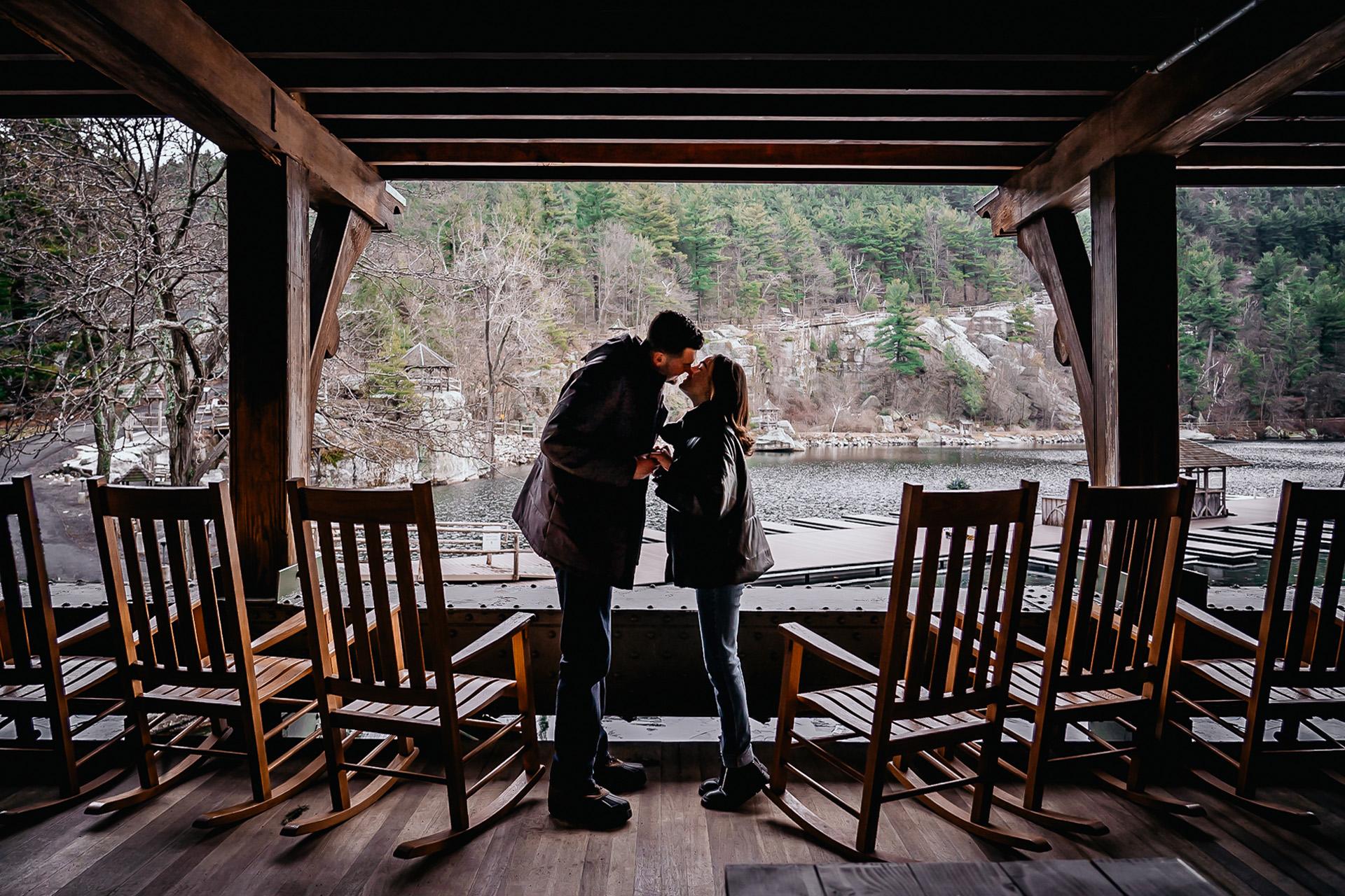 Mohonk engagement photographer