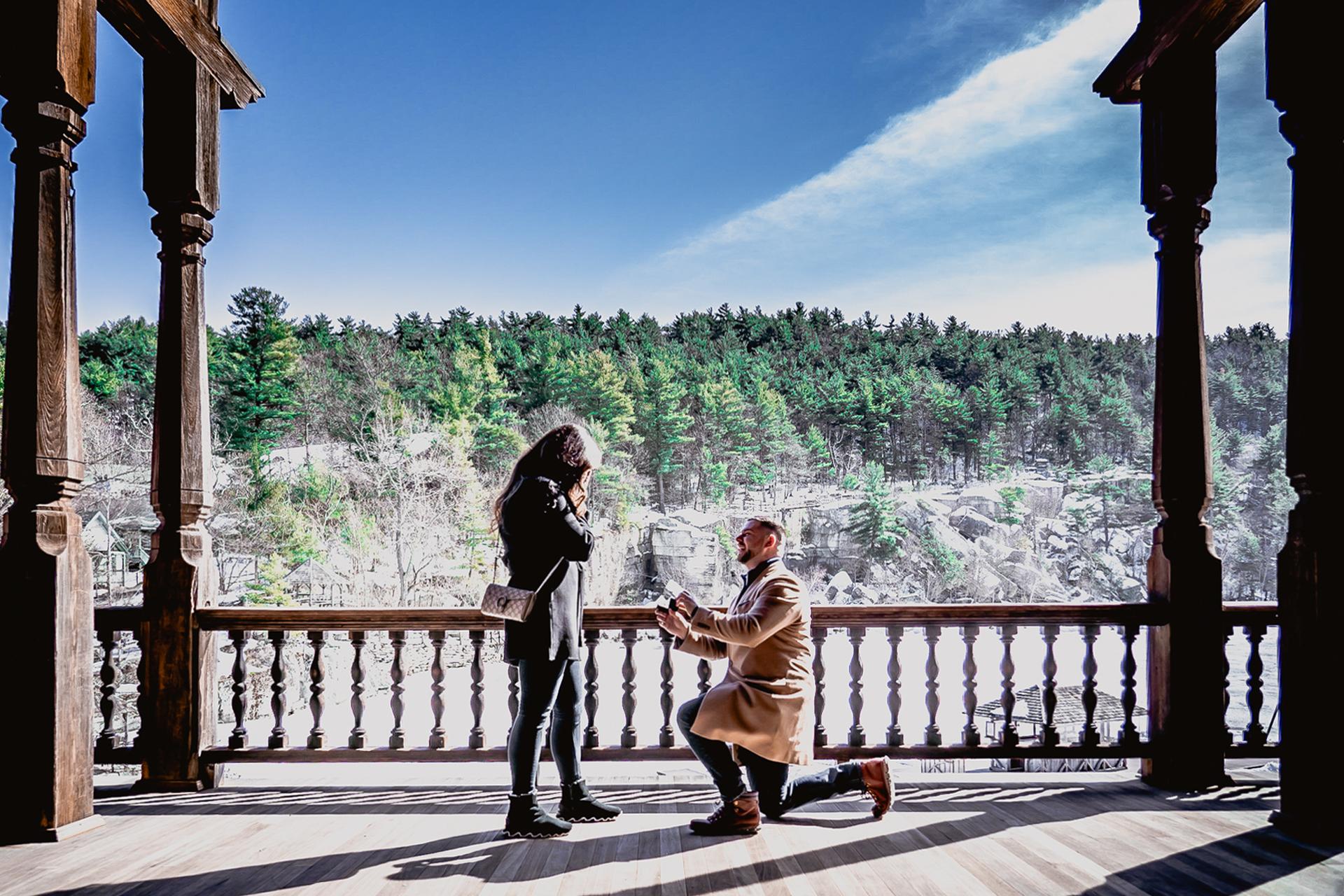 Mohonk proposal photos