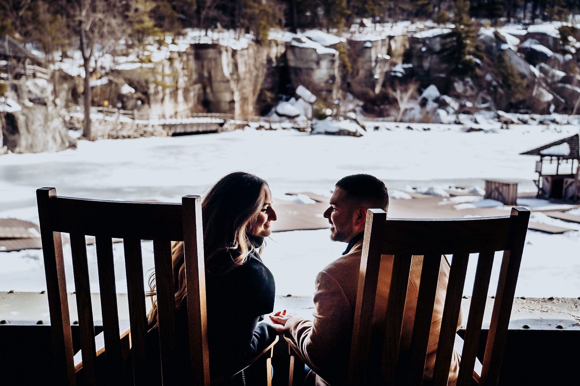 Mohonk engagement photos